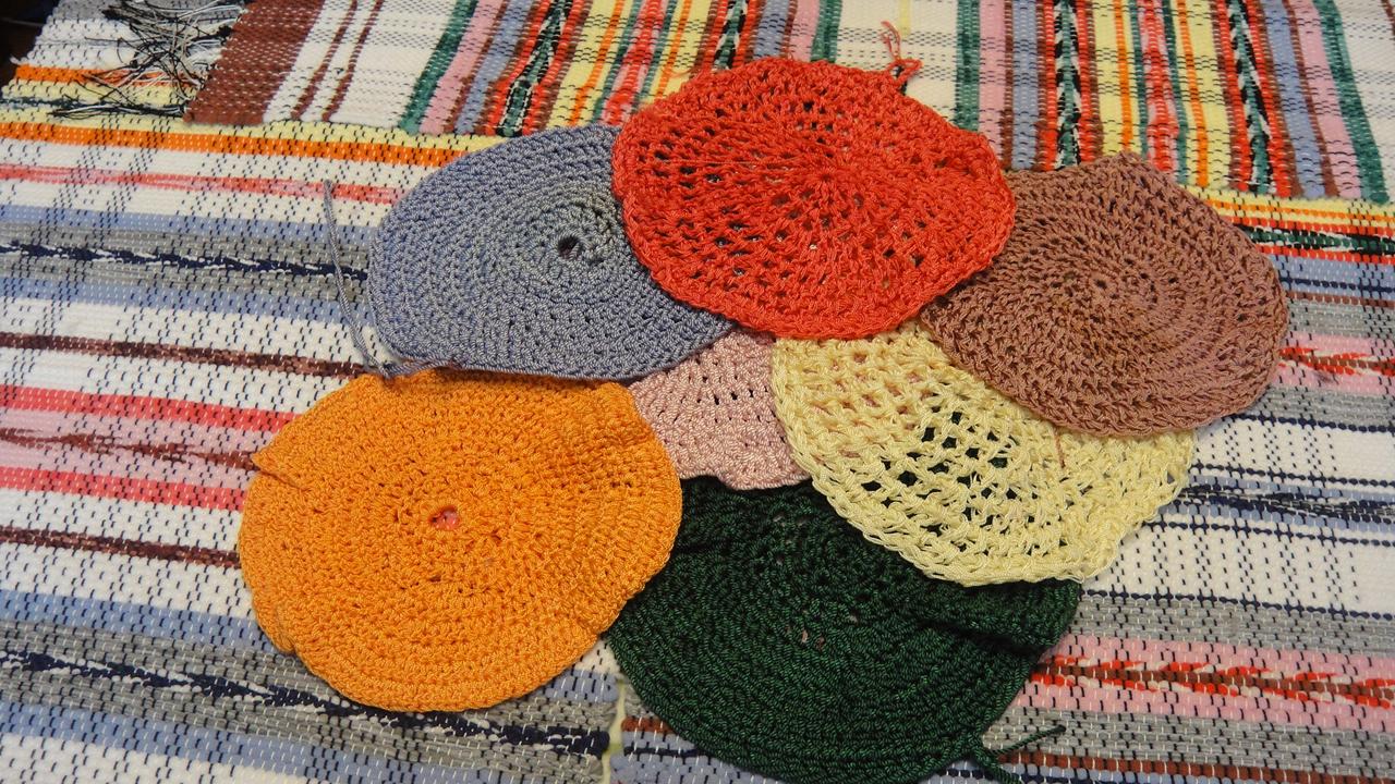 Вязание капроновыми нитками 95