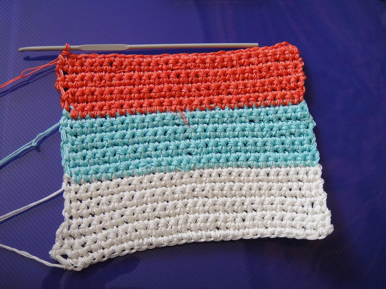 Вязание капроновыми нитками 6
