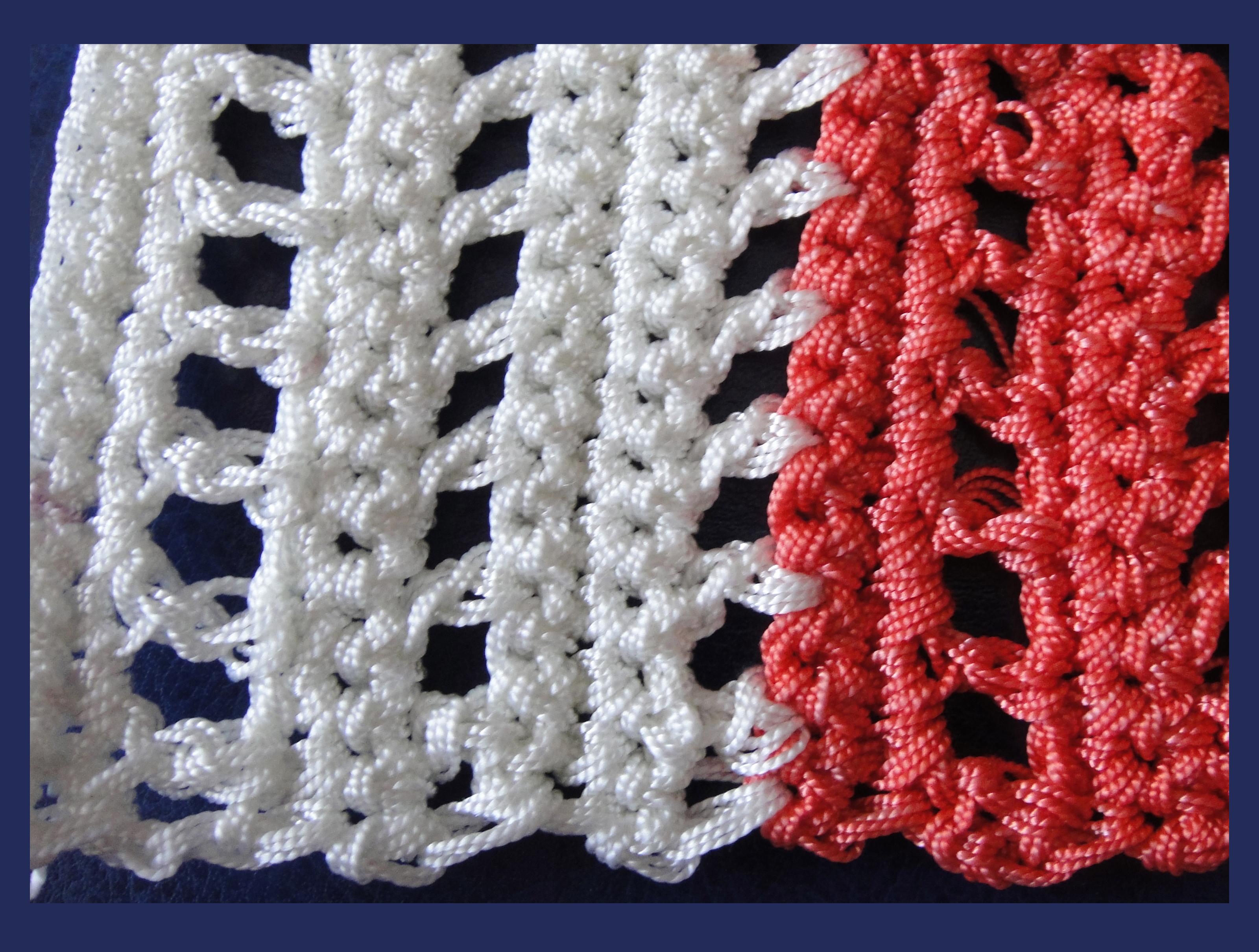 Вязание капроновыми нитками 98