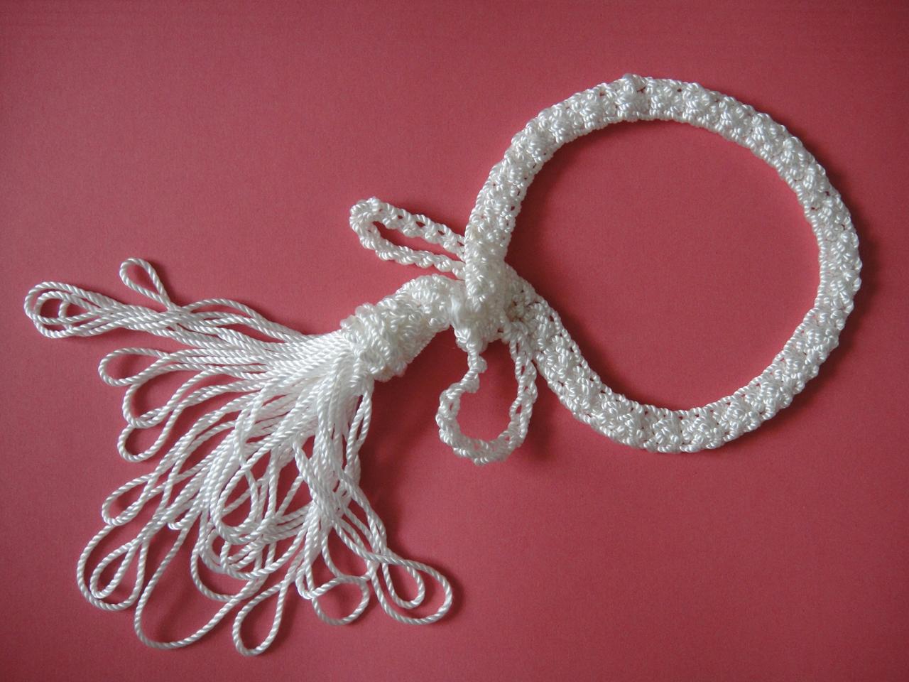 Вязание капроновыми нитками 79