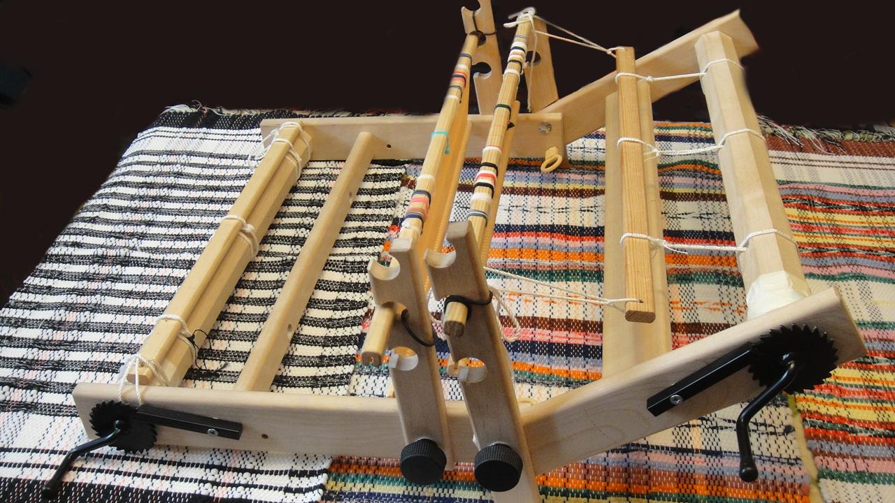 виды ткацких переплетений схема